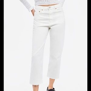 New with tags! Zara white jeans